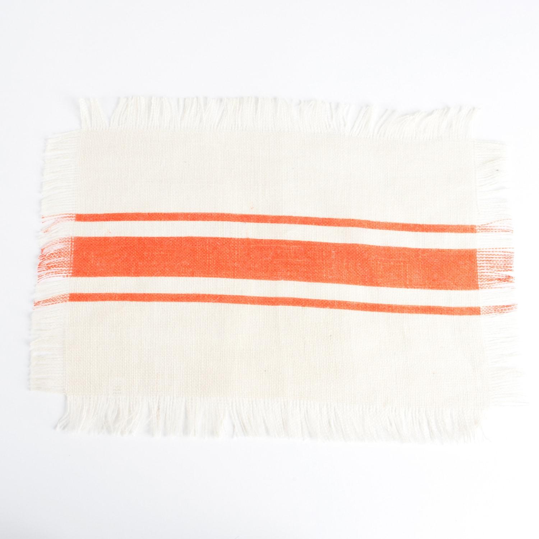 Saro Striped Design Jute Table Runner (set of 1) or Place...