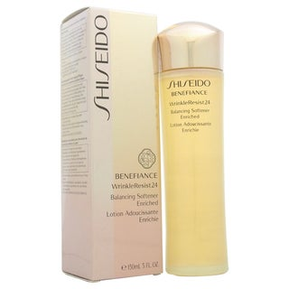 Shiseido Benefiance WrinkleResist24 Balancing Softener Enriched 5-ounce Makeup