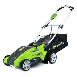 GreenWorks 25142 10-amp Corded 16-inch Lawn Mower