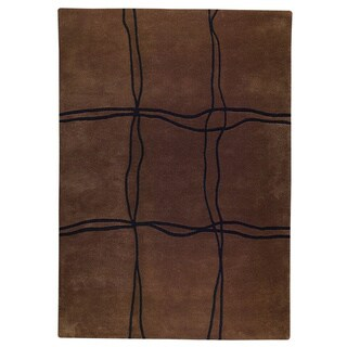 M.A.Trading Hand Tufted Amsterdam Brown (5'6 x 7'10) Rug