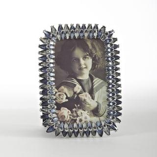 Sapphire Vintage Jeweled Photo Frame