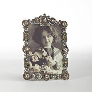 Green Jeweled Photo Frame