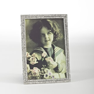 Vintage Jeweled Photo Frame