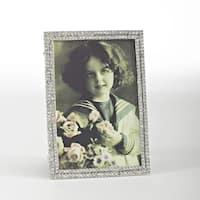 Vintage Jeweled Photo Frame