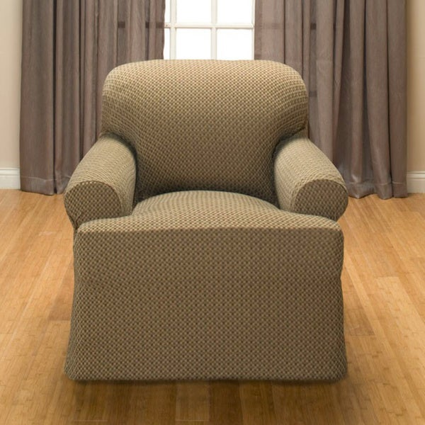 Galway T-cushion Stretch Chair Slipcover - Free Shipping Today