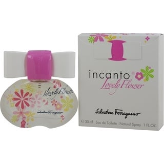 Salvatore Ferragamo Incanto Lovely Flower Women's 1-ounce Eau de Toilette Spray