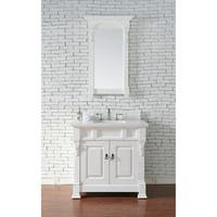 "Brookfield 36"" Single Cottage White Cabinet"