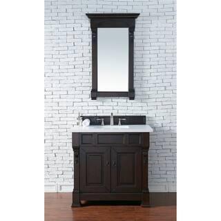 brookfield 36 burnished mahogany single vanity