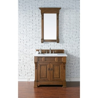 36-inch Brookfield Country Oak Single Vanity