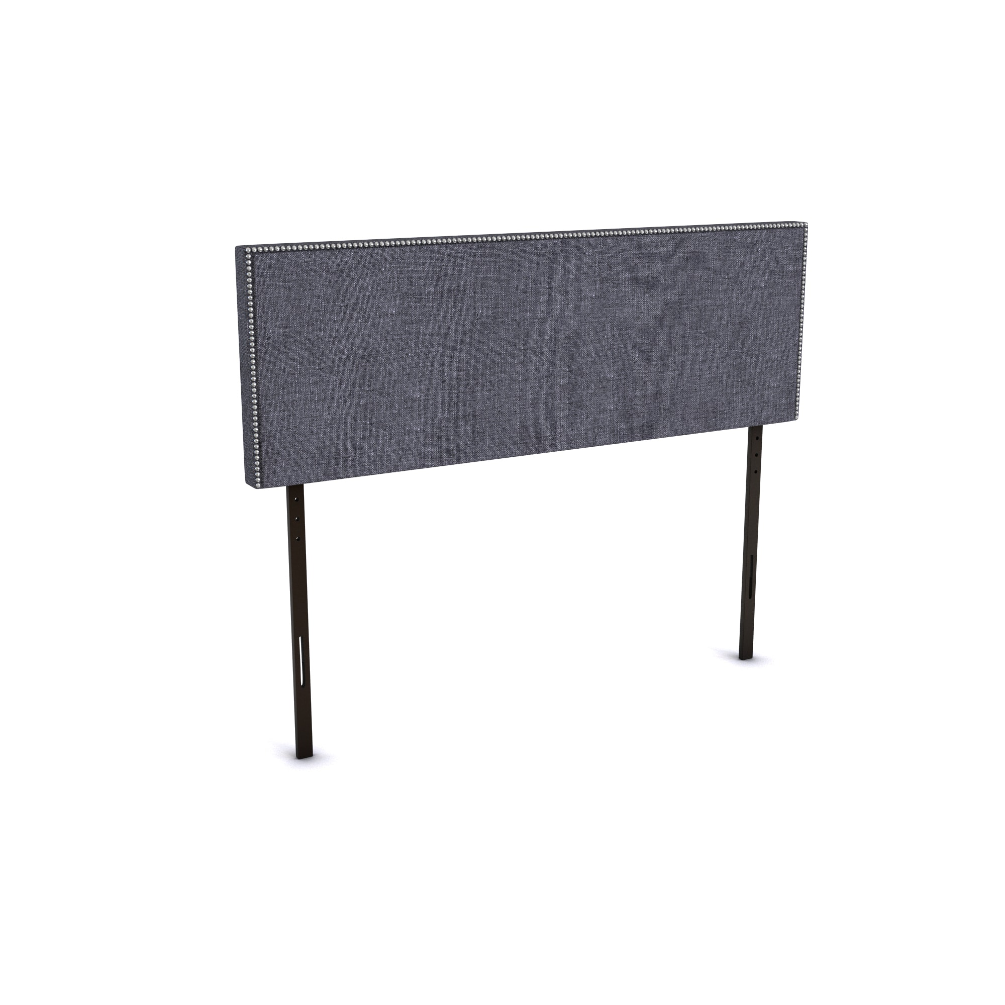 Shop Silver Lake Quintero Queen-size Nailhead Upholstered Headboard ...