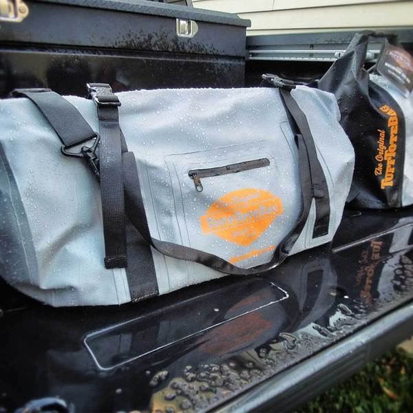 Tuff Tote Grey Waterproof PVC Bag