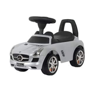 Best Ride On Cars Silver Mercedes SLS AMG Push Car (Option: Silver) https://ak1.ostkcdn.com/images/products/9518194/P16696390.jpg?impolicy=medium