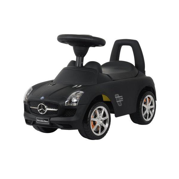 Best Ride On Cars Matte Black Mercedes SLS AMG Push Car