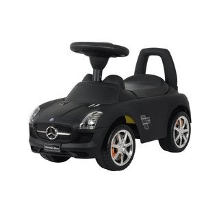 Best Ride On Cars Matte Black Mercedes SLS AMG Push Car