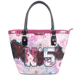 Nicole Lee No. 5 Print Tote Bag