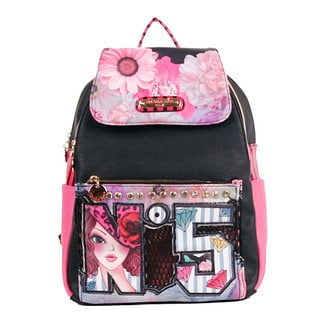 Nicole Lee No. 5 Print Multi-function Backpack