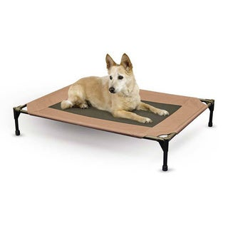 K&H Pet Products Tan Fabric Pet Cot