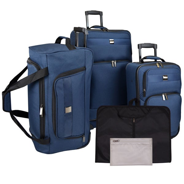 U.S. Traveler by Traveler's Choice 5-piece Complete Rolling ...