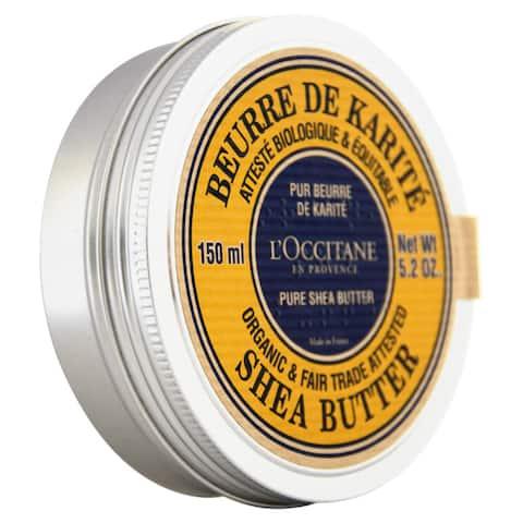 L'Occitane Organic Pure Shea Butter 5.2-ounce Moisturizer