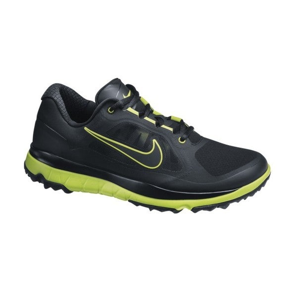 Nike Men's FI Impact Black/ Venom Green Golf Shoes