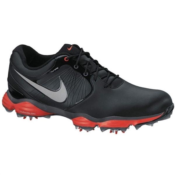 Nike Men's Lunar Control II SL Limited Edition Black/ Red Golf Shoes