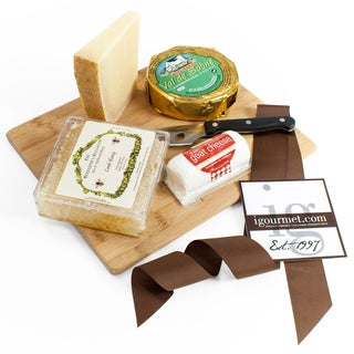 igourmet The Honeycomb Cheese Board Gift Set
