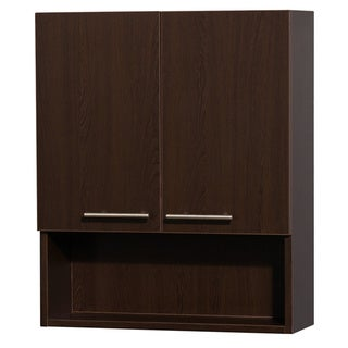 Wyndham Collection Amare 29-inch Bathroom Wall-Mounted Storage Cabinet (2-door)