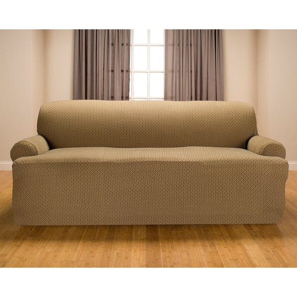 Sanctuary Galway Premium Stretch T Cushion Sofa Slipcover