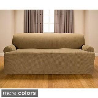 Sanctuary Galway Premium Stretch T-cushion Sofa Slipcover