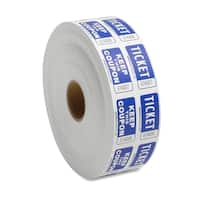 Sparco Blue Roll Tickets (Roll of 2000)