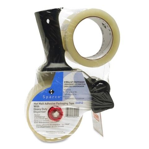 Sparco Pistol Grip Dispenser Hvyduty Packaging Tape (Pack of 2)