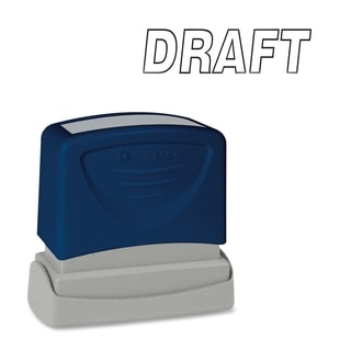 Sparco 'Draft' Title Stamp