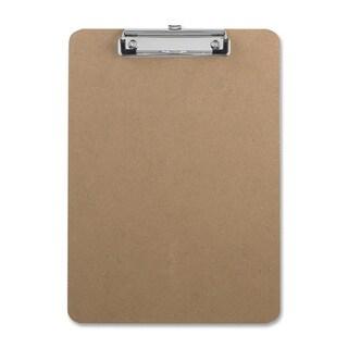Sparco Flat Clip Rubber Grip Hardboard Clipboard