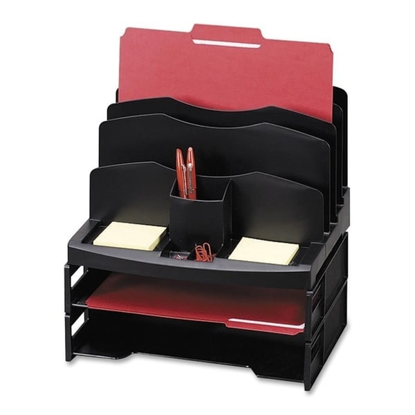 Sparco Smart Sorter Organizer w/ Letter Tray - Each