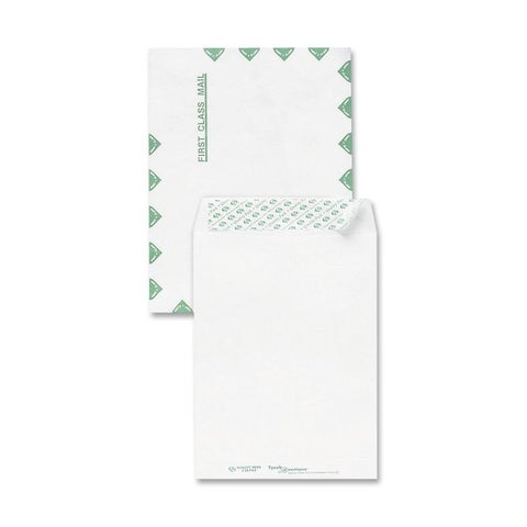 Sparco Tyvek Open-End First Class Envelopes - 100/BX