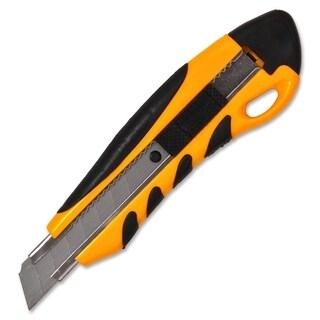 Sparco PVC Anti-Slip Rubber Grip Utility Knife - Each