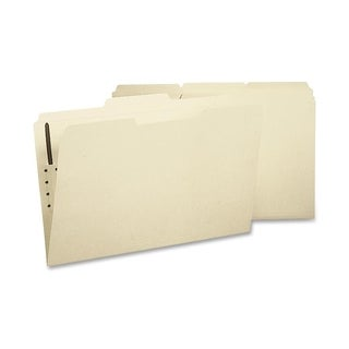 Sparco 1/3 Cut 2-ply Legal Fastener File Folders (Box of 50)