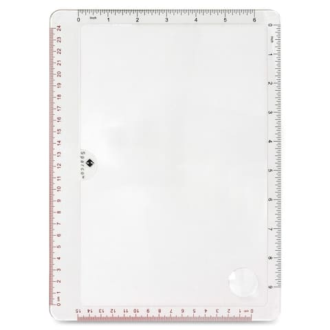 Sparco Full Page Handheld Magnifier