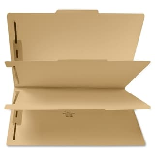 Sparco 6-part File Folders with Fasteners (Box of 25)