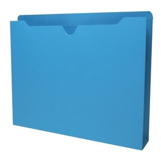 Sparco Reinforced Tabs Blue Colored File Jackets (Box of 50)