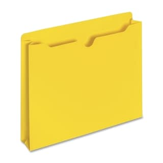 Sparco Reinforced Tabs Yellow Colored File Jackets (Box of 100)