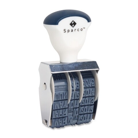 Sparco Rubber Date Stamps