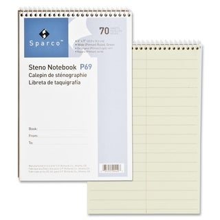 Sparco Steno Notebooks - Each