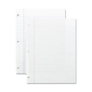 Sparco Standard White 3-hole Punch Filler Paper (Box of 200)