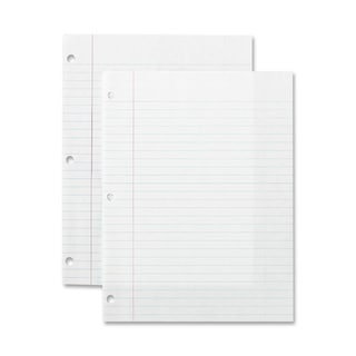 Sparco Standard White 3-hole Punch Filler Paper (Box of 150)