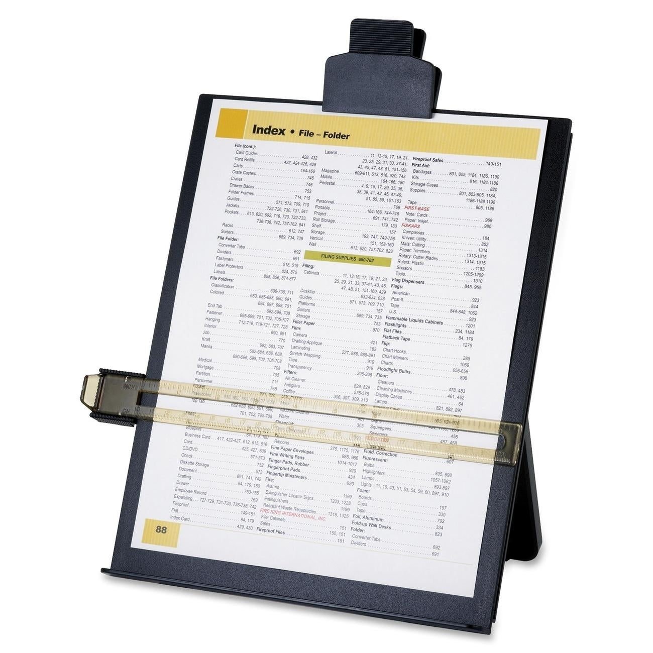 SPARCO Easel Document Holder with Highlight Guide (SPR389...