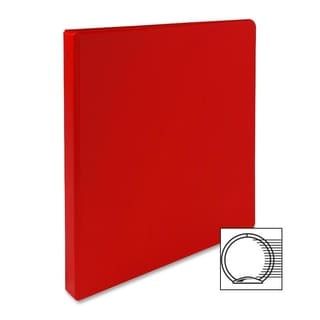 Sparco Red 12-inch Vinyl 3-ring Binder