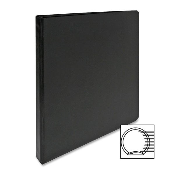 shop sparco black vinyl 3 ring binder overstock 9519220 Double Ring Binders
