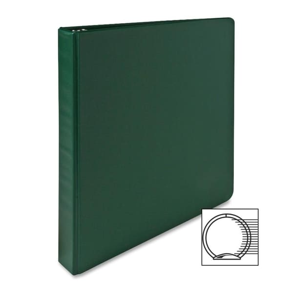 Shop Sparco Green 12 Inch Vinyl 3 Ring Binder Free