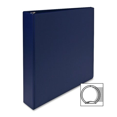 Sparco Blue Vinyl 3-ring Binder
